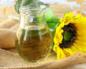 Рекомендации по применению подсолнечного масла