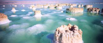 Минералы Мертвого моря для очищения кожи